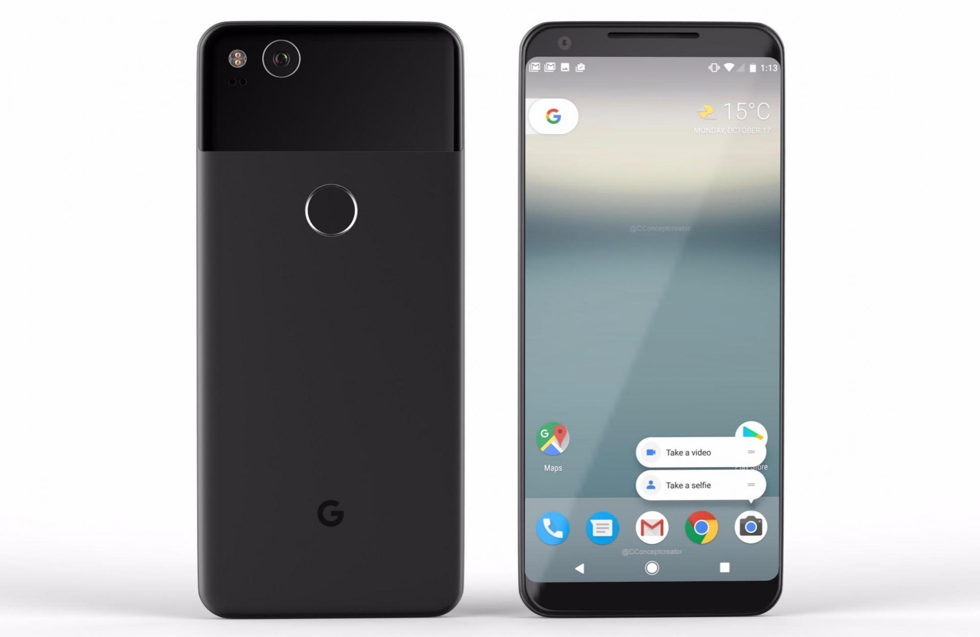 Google Leaked Details Of The Pixel 2 Smartphones